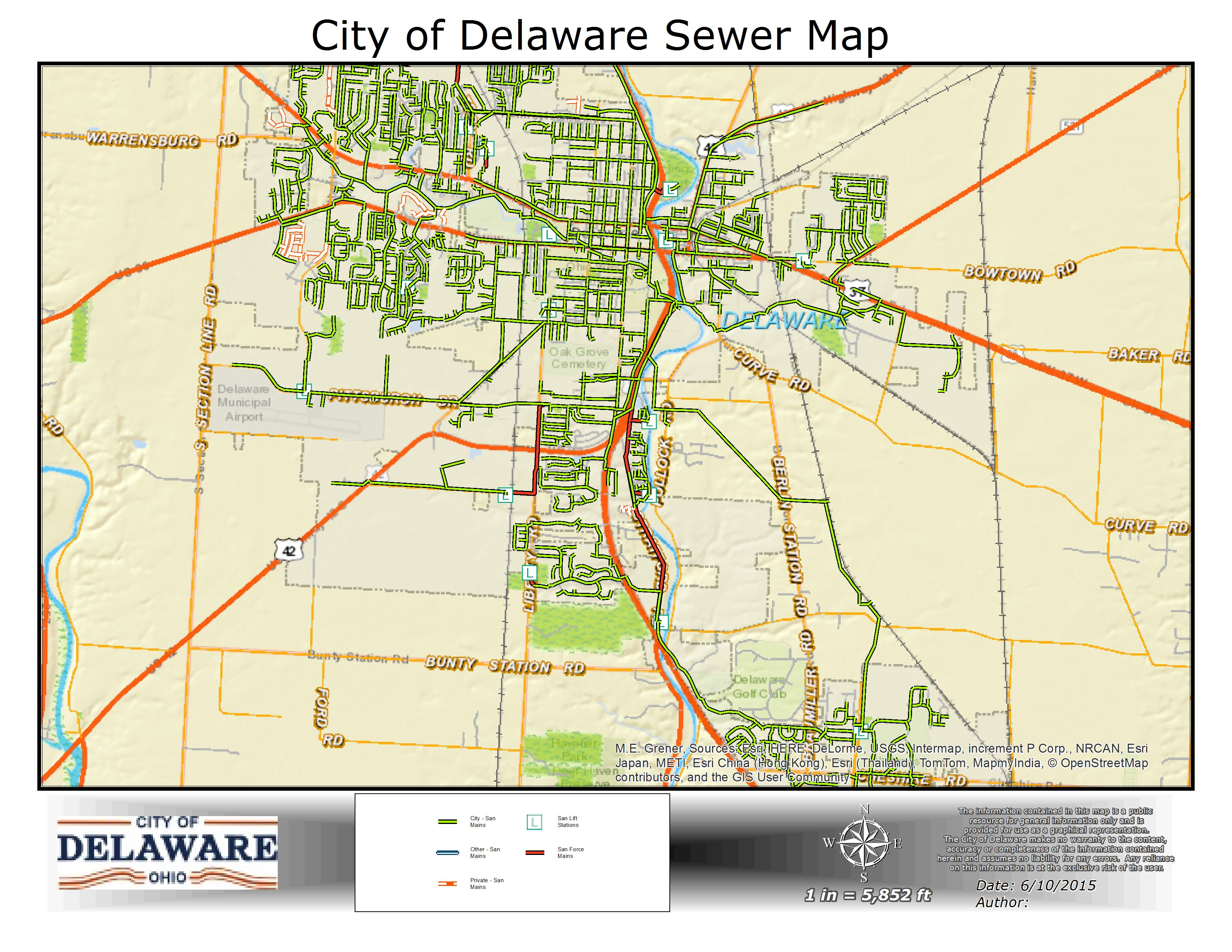Sewer Map